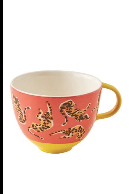 Anthropologie   52 Conversation Mug   Tiger