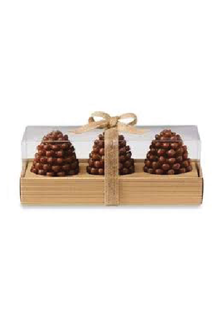 Mudpie | Pinecone Candles Set of 3