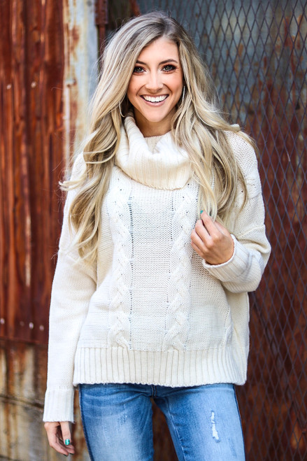 Winter Snow | Ivory Sweater