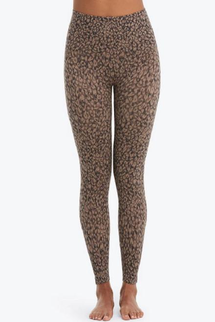 Spanx   Look At Me Now Leggings   Mini Leopard