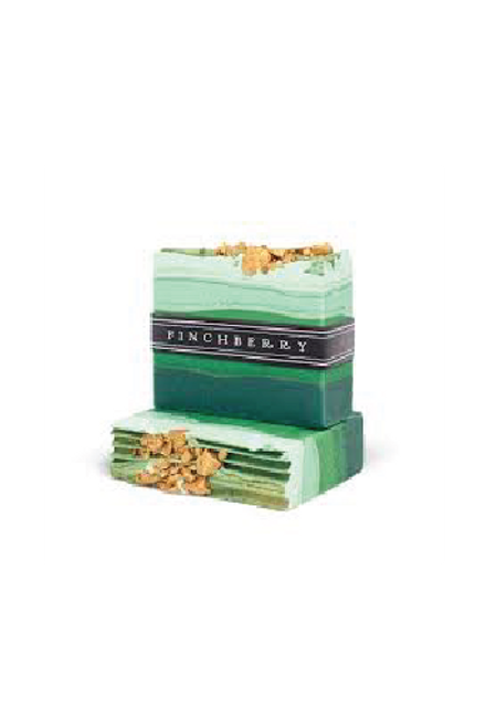 Emerald Soap for hands or body by Finchberry available in Macon, GA & Marietta, GA.