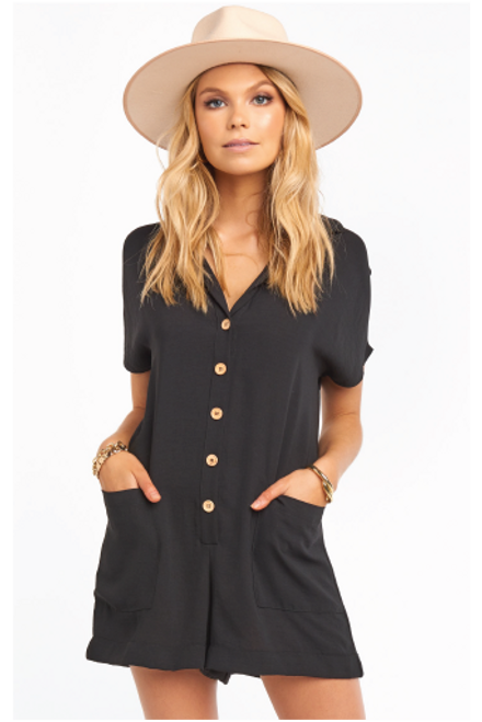 Black Romper available in Macon GA & Marietta GA