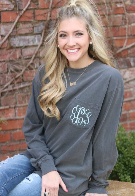 Monogrammed, Personalized, Tees available in Macon & Marietta, GA