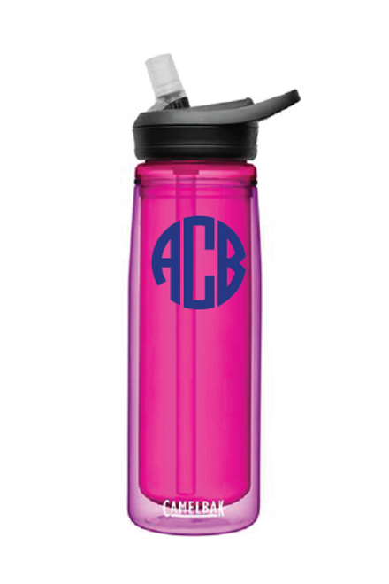 Monogrammed Camelbak | EDDY®+ .6L BOTTLE, INSULATED | Amethyst