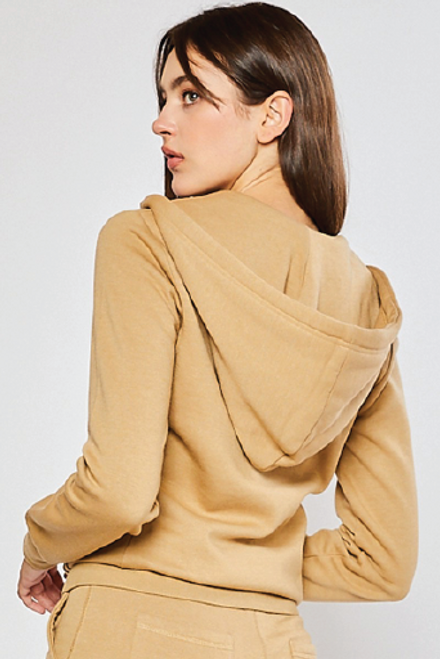 Basic Fleece Pullover Tan available in Macon, GA