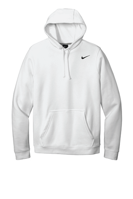 Nike Club Fleece Pullover Hoodie White available in Macon, GA