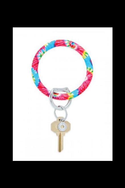 O-Venture   Key Ring   Rainbow Tie Dye