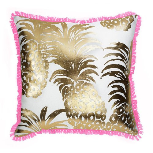 6c92eb10f25b8f Lily Pulitzer | Large Indoor/Outdoor Pillow | Pink Pout Flamenco ...