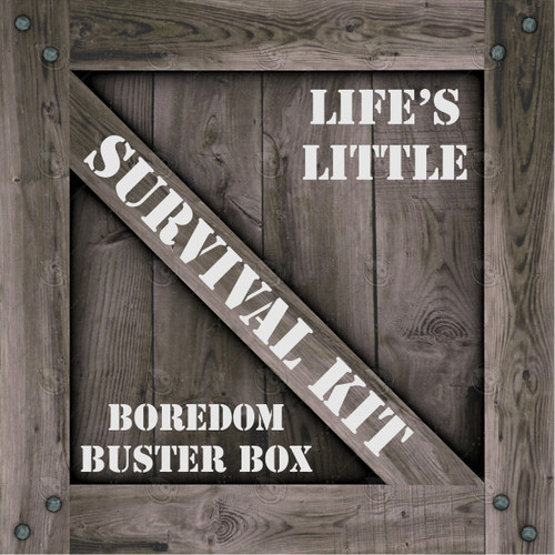 Boredom Buster Box Kids Survival Kit