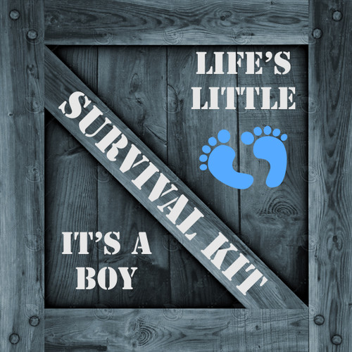 It's A Boy Survival Kit