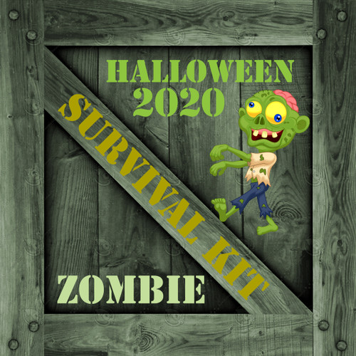 Halloween Zombie Survival Kit