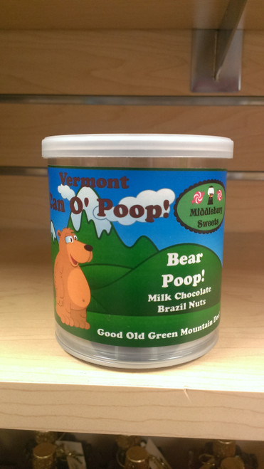 Vermont Can O' Poop - Bear Poop (Milk Chocolate Brazil Nuts)