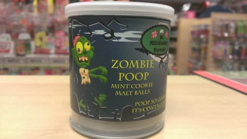 Zombie Can O' Poop - Zombie Poop (Mint Cookie Malt Balls)