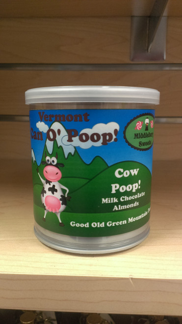 Vermont Can O' Poop - Cow Poop (Milk Chocolate Almonds)