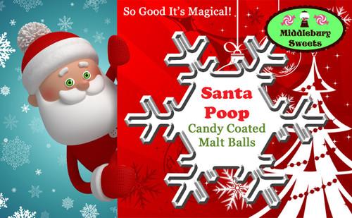 Vermont Can O' Poop - Santa Poop!