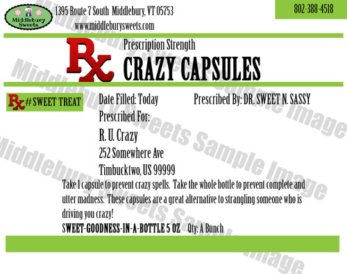 Funny Bone Prescriptions - Crazy Capsules