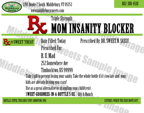 Funny Bone Prescriptions - Mom Insanity Blocker