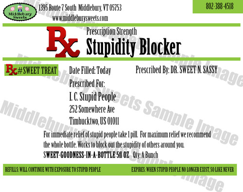 Funny Bone Prescriptions - Stupidity Blocker