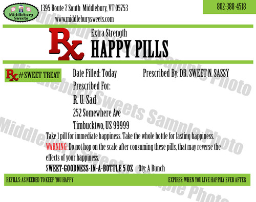 Funny Bone Prescriptions - Happy Pills