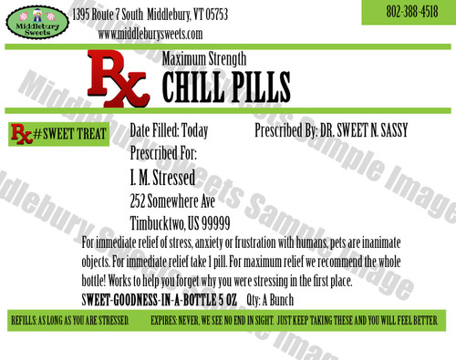 Funny Bone Prescriptions - Chill Pills