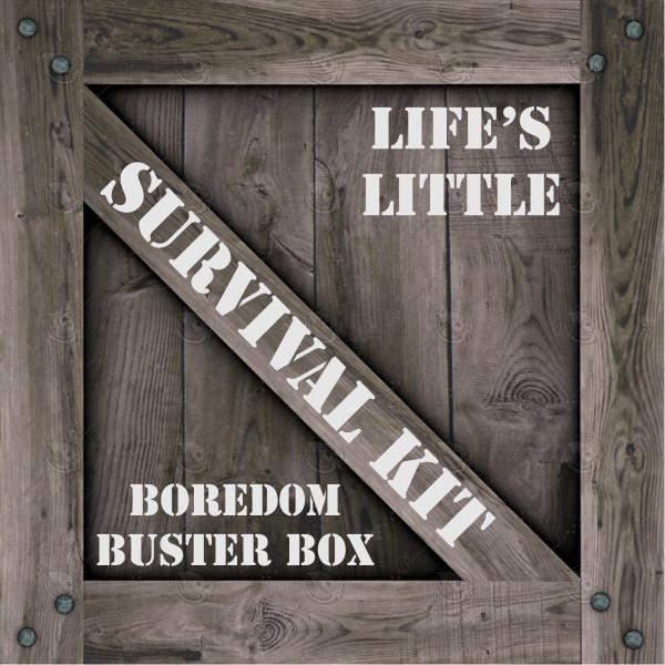 Boredom Buster Box Kids Survival Kit