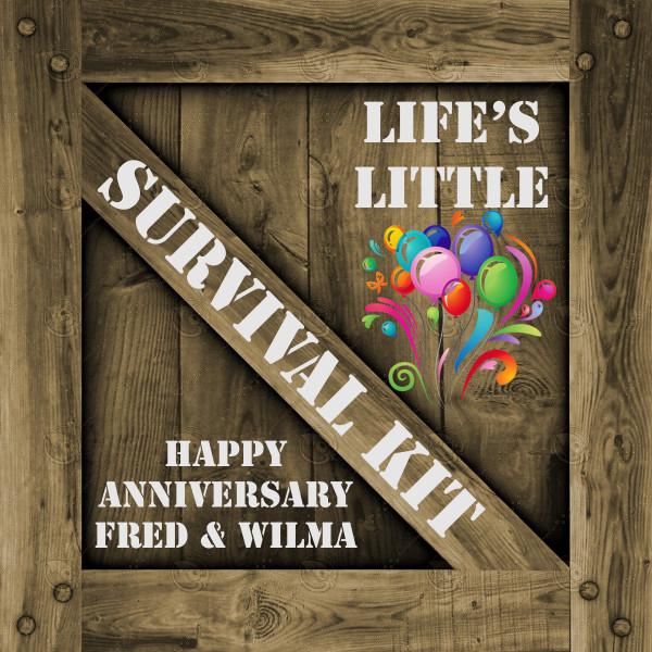 Anniversary Survival Kit