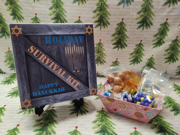 Happy Hanukkah Survival Kit