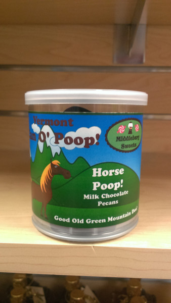 Vermont Can O' Poop - Horse Poop (Milk Chocolate Pecans)