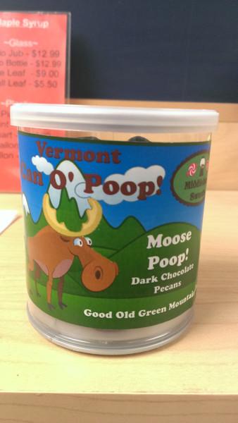 Vermont Can O' Poop - Moose Poop (Dark Chocolate Pecans)