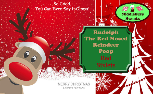 Vermont Can O' Poop - Rudolph The Red Nosed Reindeer Poop