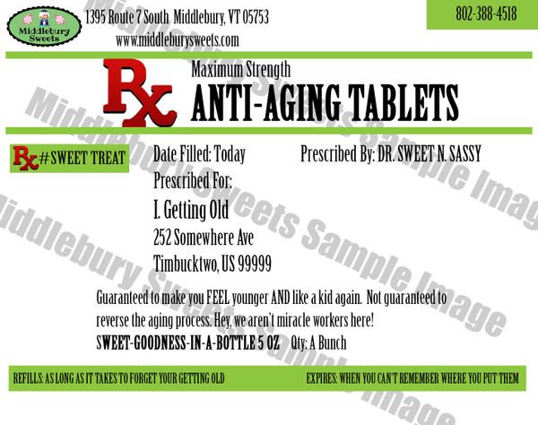 Funny Bone Prescriptions - Anti-Aging Tablets