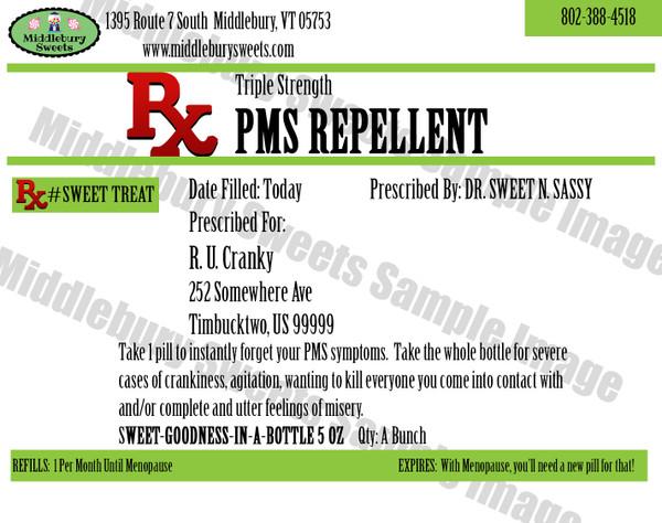 Funny Bone Prescriptions - PMS Repellent