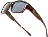 Jonathan Paul® Fitovers Eyewear X-Large Yamba in Dark-Tortoise & Gray YM003