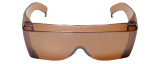 3000DR Over Glasses UV Protection in Copper
