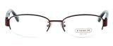 Coach Designer Reading Glasses 'Betsy' 5030-9076 52 mm