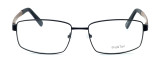 """Calabria Optical Designer Eyeglasses """"Big And Tall"""" Style 12 in Black-Brown :: Rx Bi-Focal"""