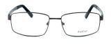 "Calabria Optical Designer Eyeglasses ""Big And Tall"" Style 12 in Gunmetal :: Rx Bi-Focal"