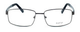 """Calabria Optical Designer Reading Glasses """"Big And Tall"""" Style 12 in Gunmetal"""