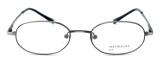 Calabria MetalFlex U Pewter Designer Eyeglasses P in Antique Pewter :: Rx Bi-Focal