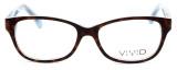 Calabria Splash SP61 Designer Eyeglasses in Demi-Blue :: Rx Bi-Focal