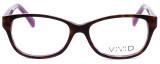 Calabria Splash SP61 Designer Eyeglasses in Demi-Purple :: Rx Bi-Focal