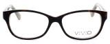 Calabria Splash SP61 Designer Eyeglasses in Demi-Brown :: Rx Bi-Focal