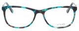 Calabria Splash SP62 Designer Eyeglasses in Turquoise :: Rx Bi-Focal