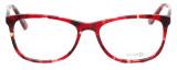 Calabria Splash SP62 Designer Eyeglasses in Wine :: Rx Bi-Focal