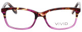 Calabria Splash SP63 Designer Eyeglasses in Tortoise-Pink :: Rx Bi-Focal