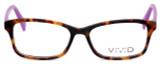 Calabria Viv 854 Designer Eyeglasses in Demi-Purple :: Rx Bi-Focal