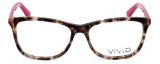 Calabria Viv 848 Designer Eyeglasses in Demi-Pink :: Rx Bi-Focal