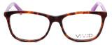 Calabria Viv 848 Designer Eyeglasses in Demi-Purple :: Rx Bi-Focal