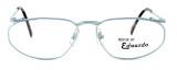 Regency International Designer Eyeglasses Venus in Matte Silver 54mm :: Rx Bi-Focal