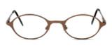Regency International Designer Eyeglasses Mill 001 in Matte Brown 46mm :: Rx Bi-Focal